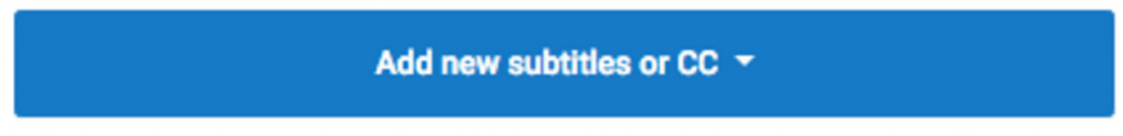 Add new subtitles or cc