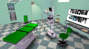 A virtual examination room