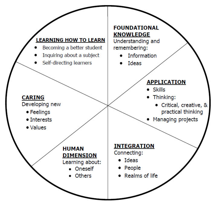 Fink's Taxonomy of Learning
