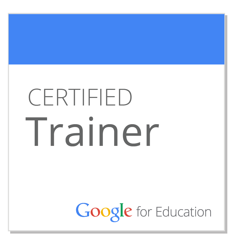 Certified Trainer Google for Education