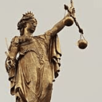 decorative image of justice