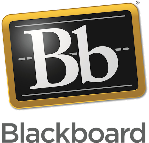 """logo for Blackboard inc, including a black backgournd with the letters """"Bb"""" in white text on top."""